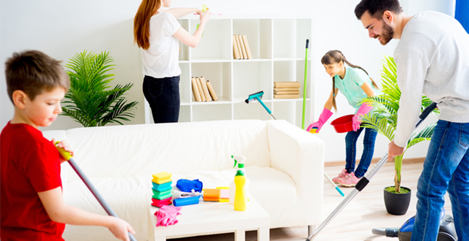 Benefits of using natural cleaning equipment